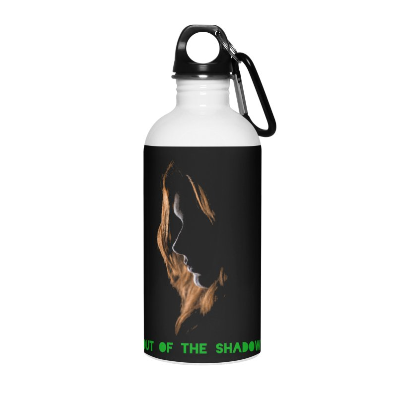 Red Accessories Water Bottle by Out of the Shadows's Store
