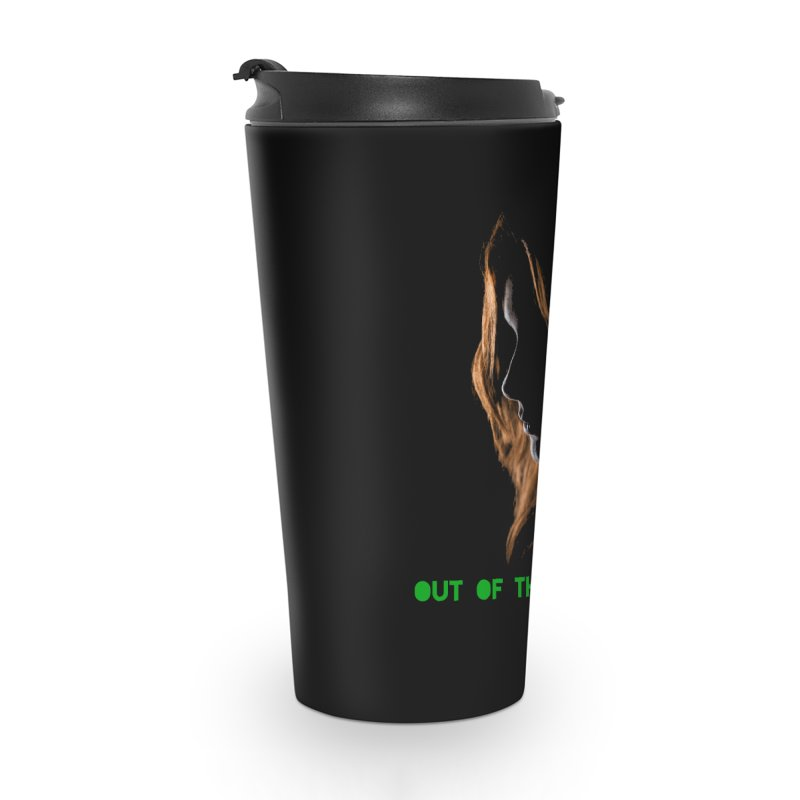 Red Accessories Travel Mug by Out of the Shadows's Store
