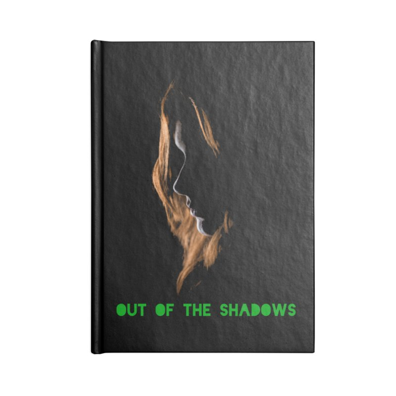 Red Accessories Blank Journal Notebook by Out of the Shadows's Store