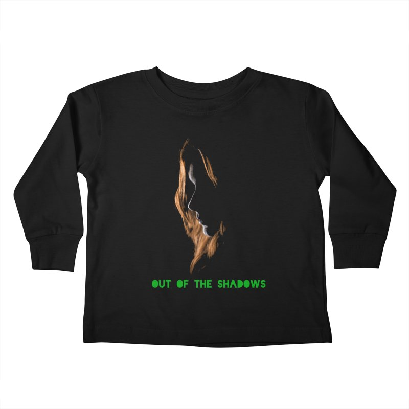 Red Kids Toddler Longsleeve T-Shirt by Out of the Shadows's Store