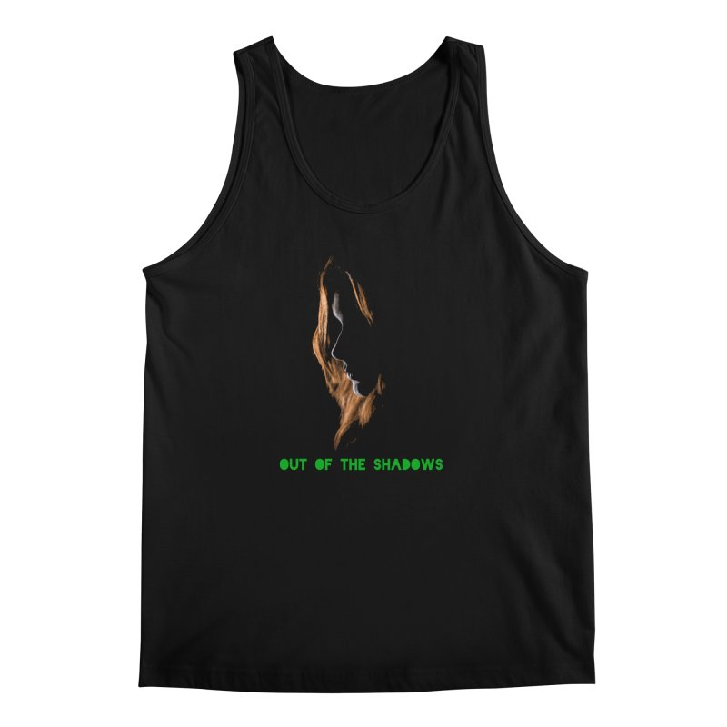 Red Men's Regular Tank by Out of the Shadows's Store