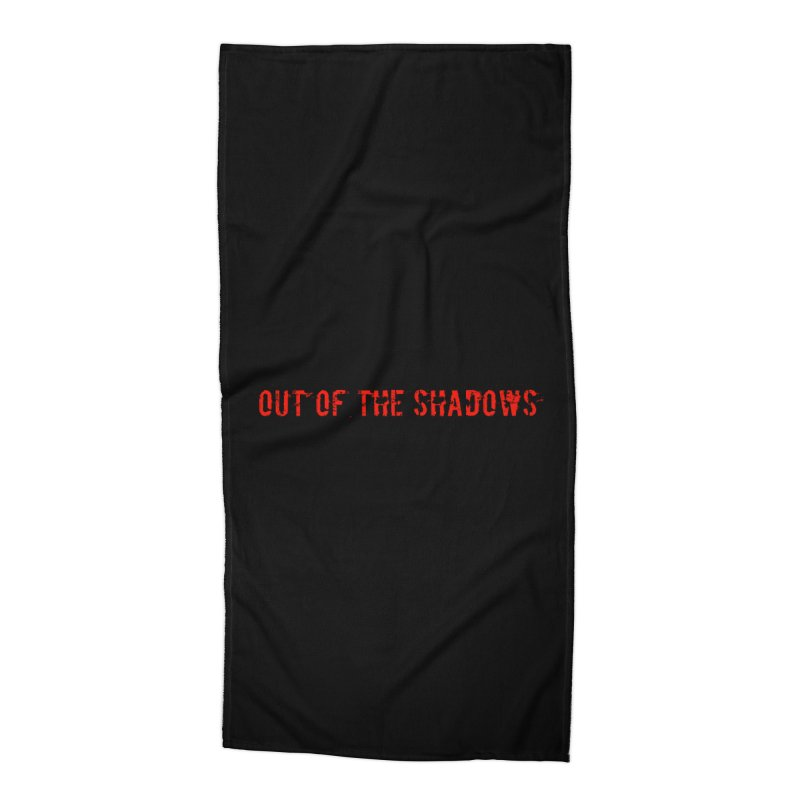 Out of the Shadows Accessories Beach Towel by Out of the Shadows's Store