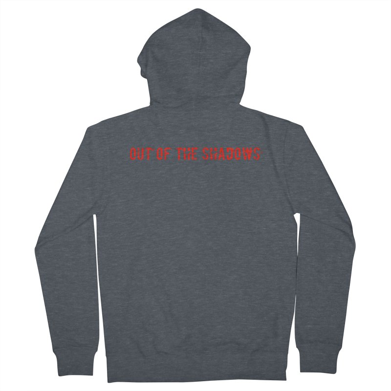 Out of the Shadows Men's French Terry Zip-Up Hoody by Out of the Shadows's Store