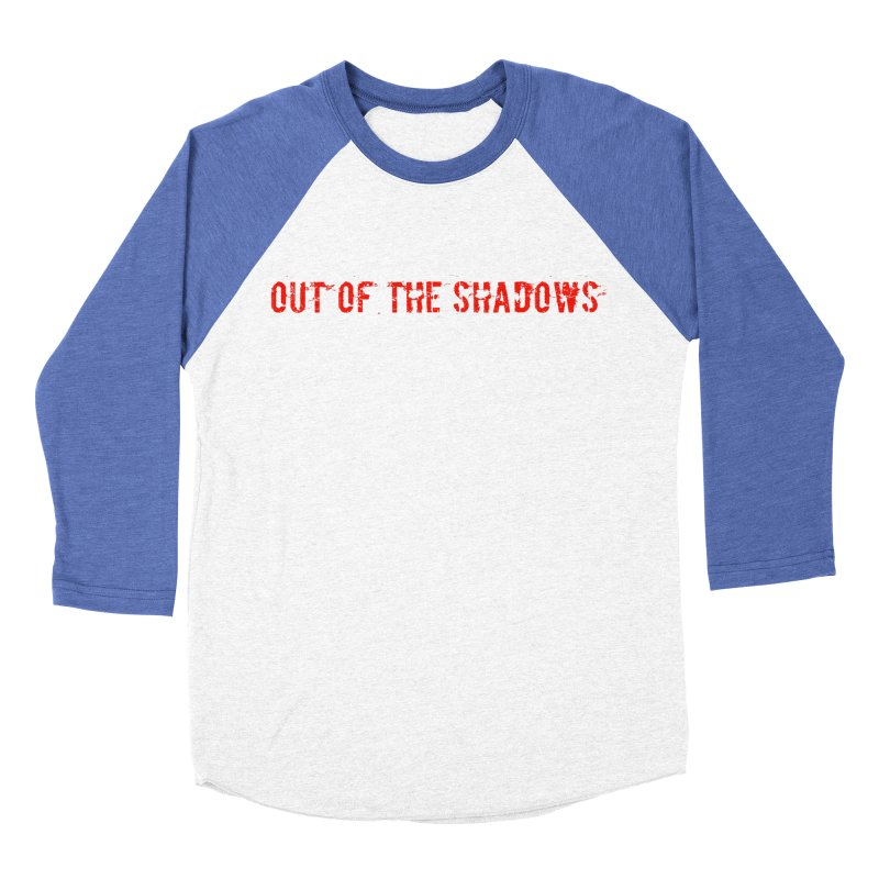 Out of the Shadows Men's Baseball Triblend Longsleeve T-Shirt by Out of the Shadows's Store