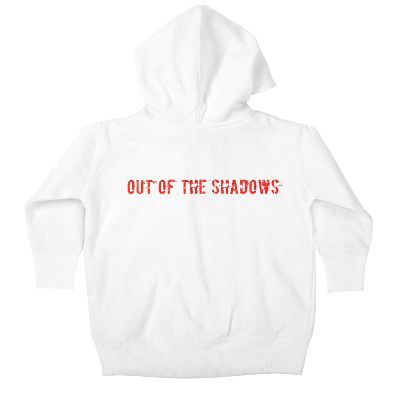 Out of the Shadows Kids Baby Zip-Up Hoody by Out of the Shadows's Store