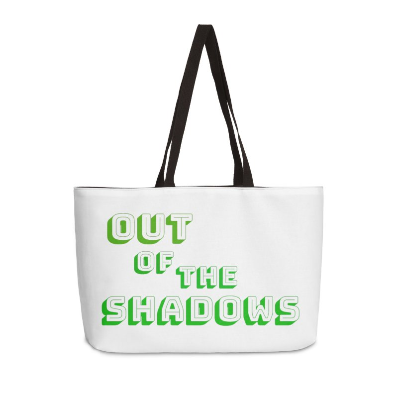 Simple Title Accessories Weekender Bag Bag by Out of the Shadows's Store