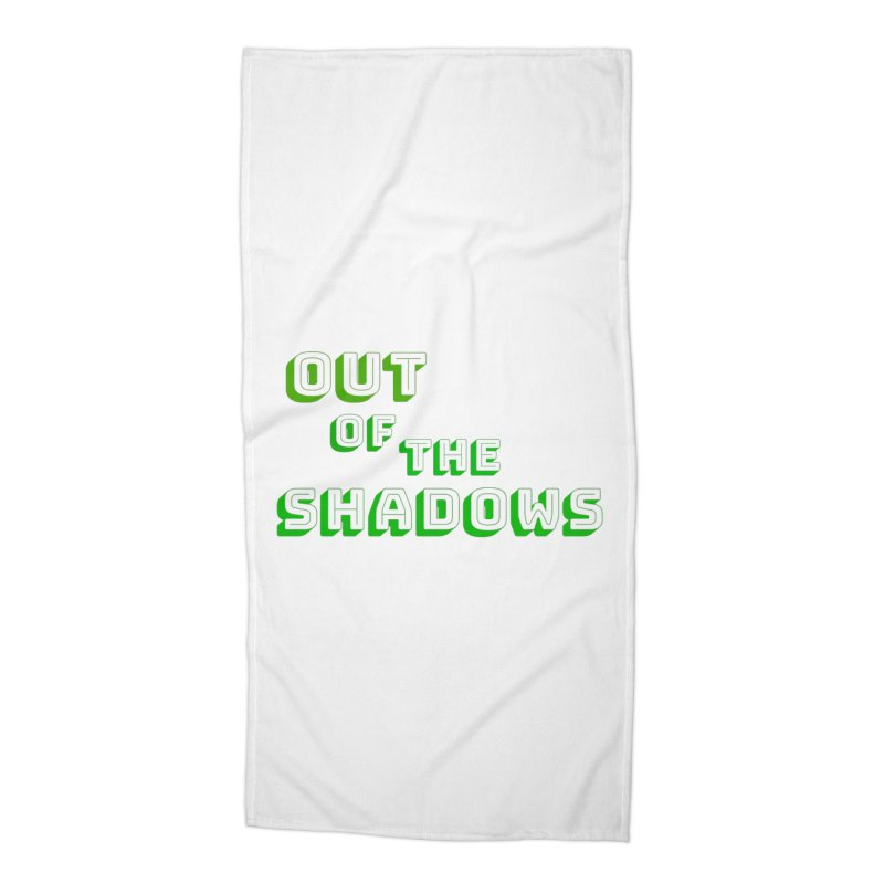 Simple Title Accessories Beach Towel by Out of the Shadows's Store