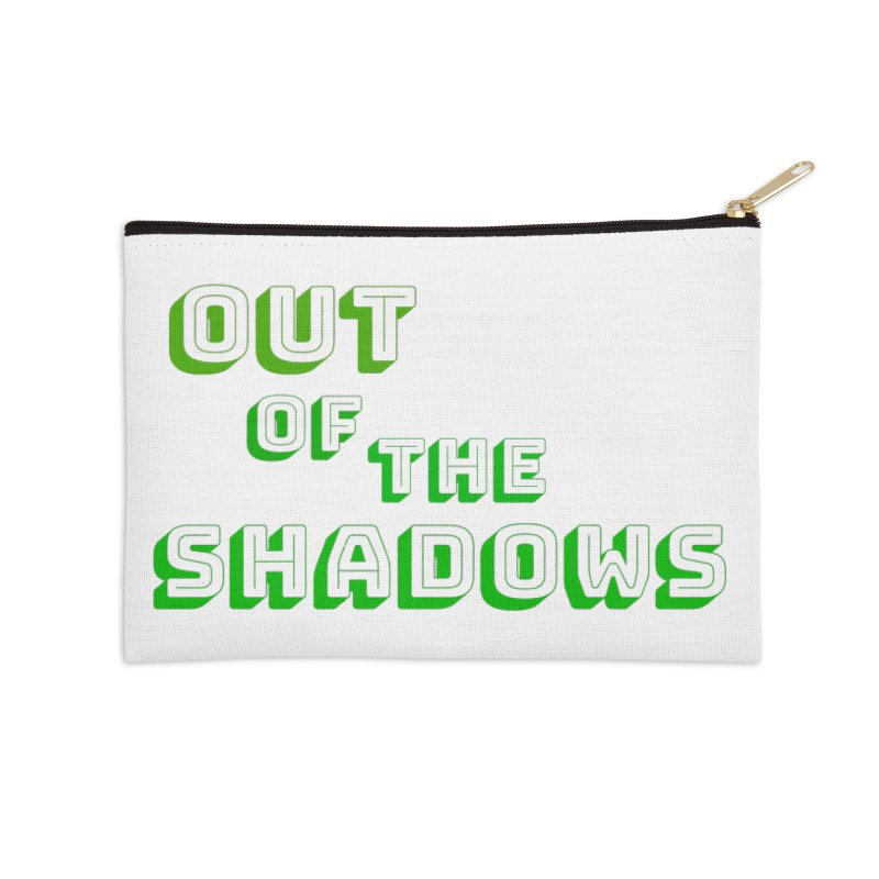 Simple Title Accessories Zip Pouch by Out of the Shadows's Store