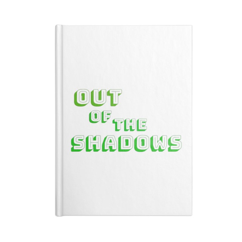 Simple Title Accessories Lined Journal Notebook by Out of the Shadows's Store