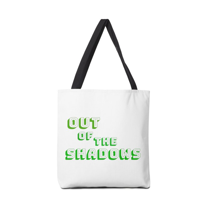Simple Title Accessories Tote Bag Bag by Out of the Shadows's Store