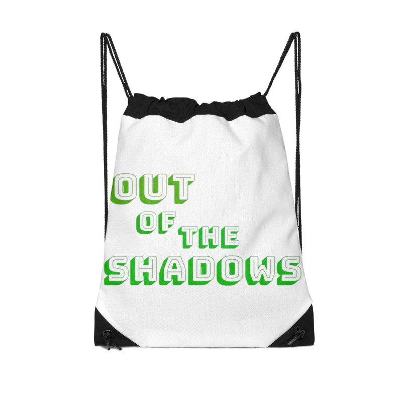 Simple Title Accessories Drawstring Bag Bag by Out of the Shadows's Store
