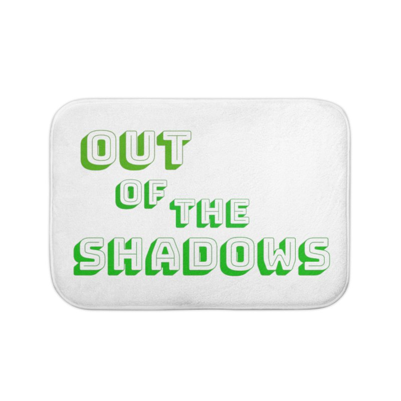 Simple Title Home Bath Mat by Out of the Shadows's Store