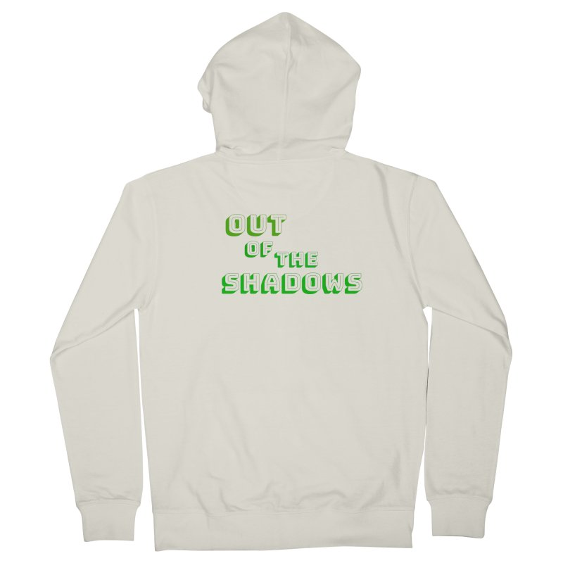 Simple Title Women's French Terry Zip-Up Hoody by Out of the Shadows's Store