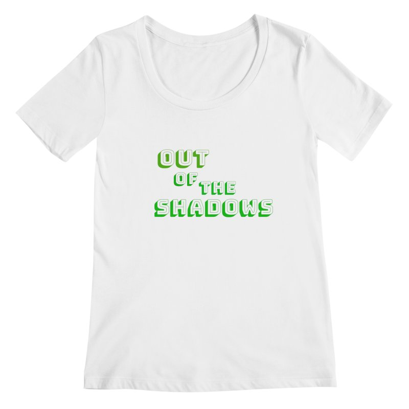 Simple Title Women's Regular Scoop Neck by Out of the Shadows's Store