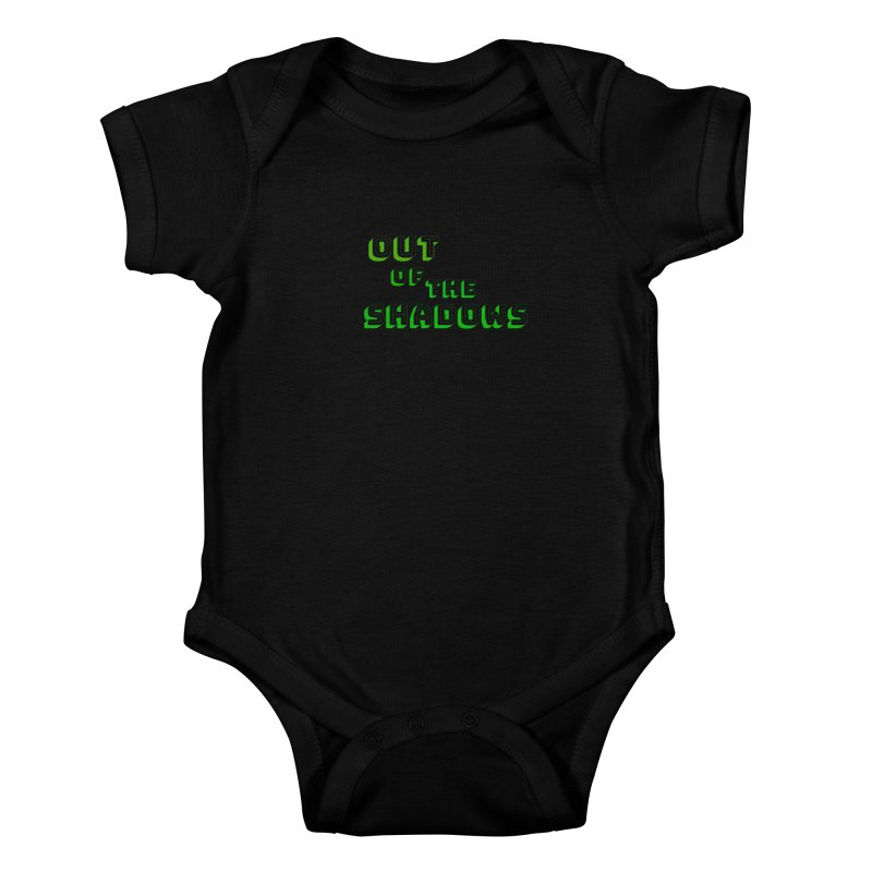 Simple Title Kids Baby Bodysuit by Out of the Shadows's Store