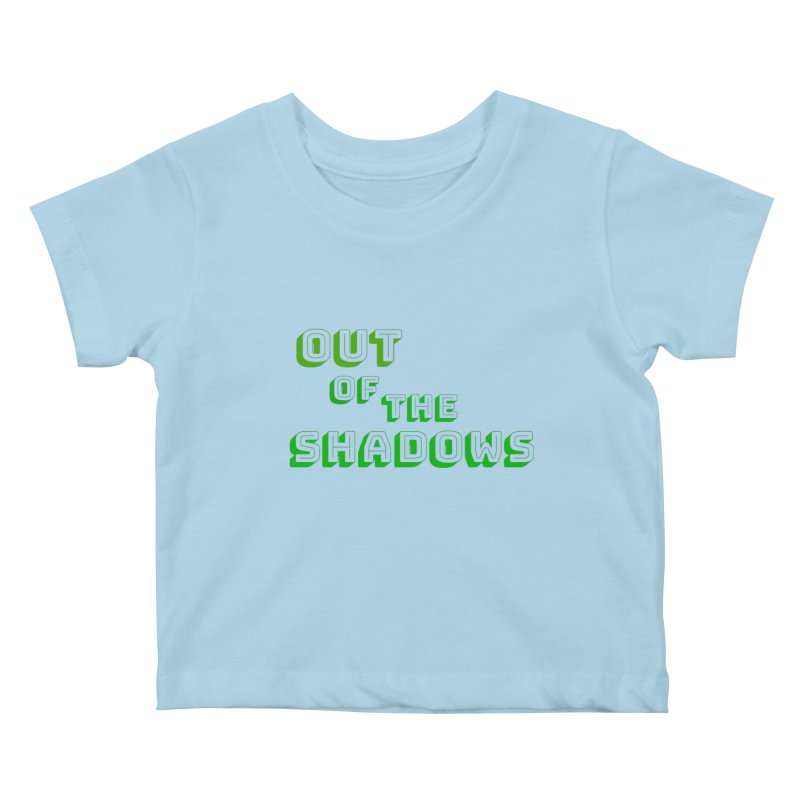 Simple Title Kids Baby T-Shirt by Out of the Shadows's Store