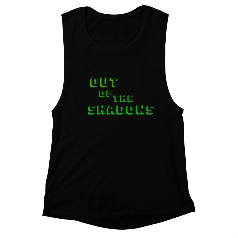 Simple Title Women's Muscle Tank by Out of the Shadows's Store