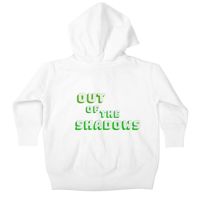 Simple Title Kids Baby Zip-Up Hoody by Out of the Shadows's Store