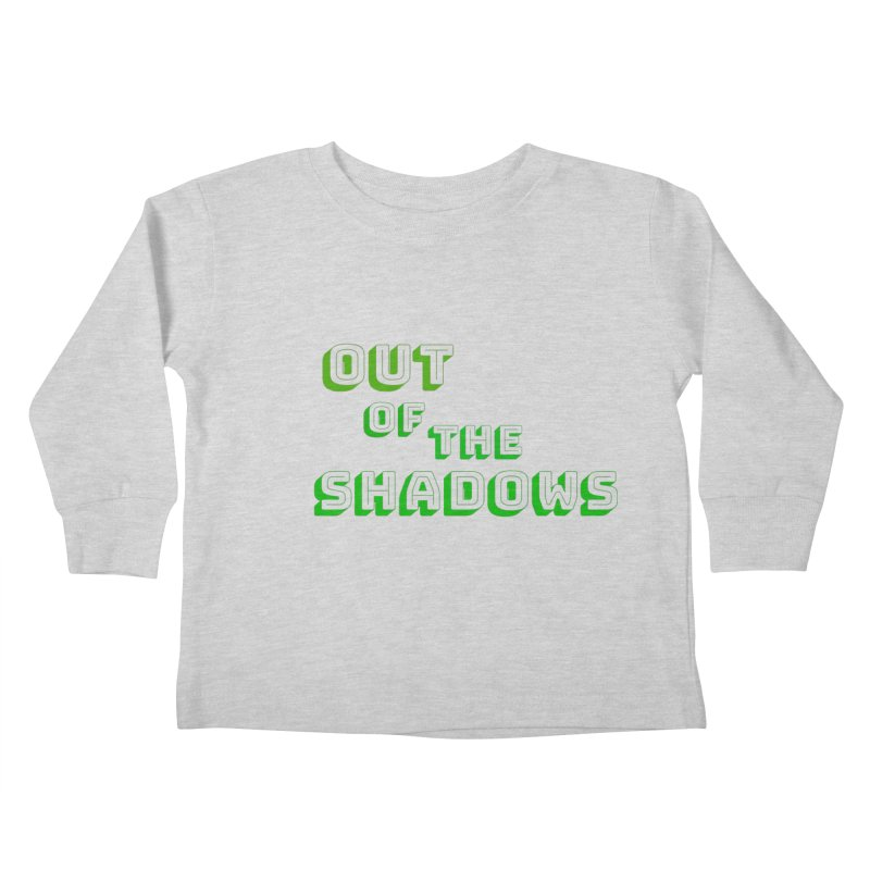 Simple Title Kids Toddler Longsleeve T-Shirt by Out of the Shadows's Store