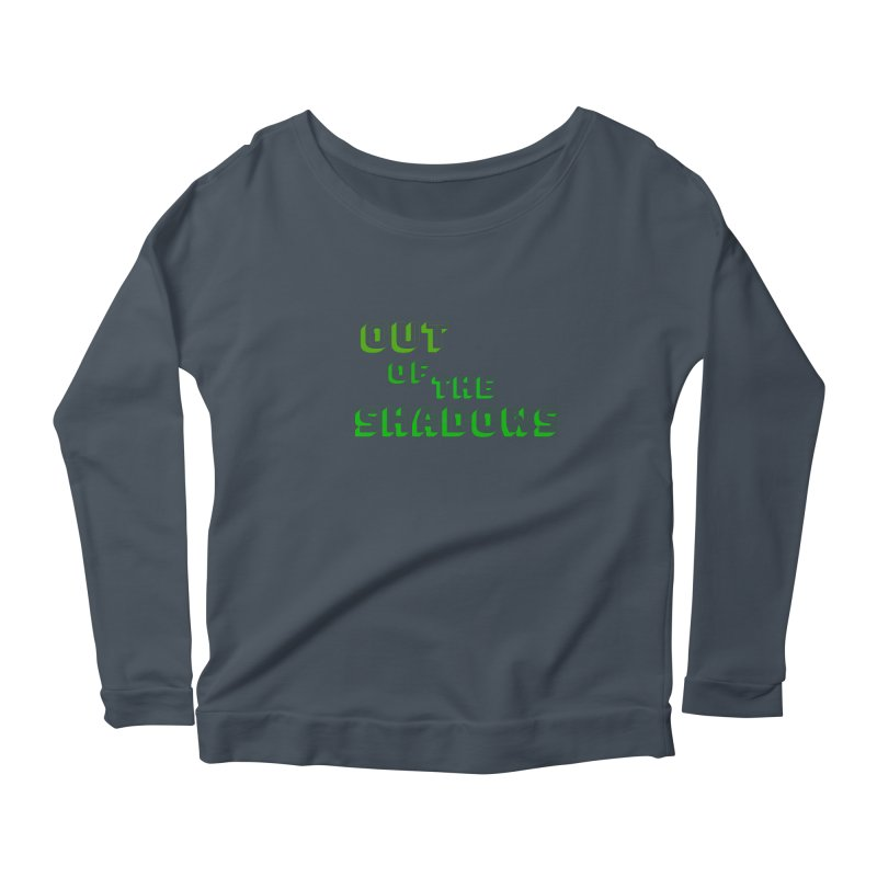 Simple Title Women's Scoop Neck Longsleeve T-Shirt by Out of the Shadows's Store