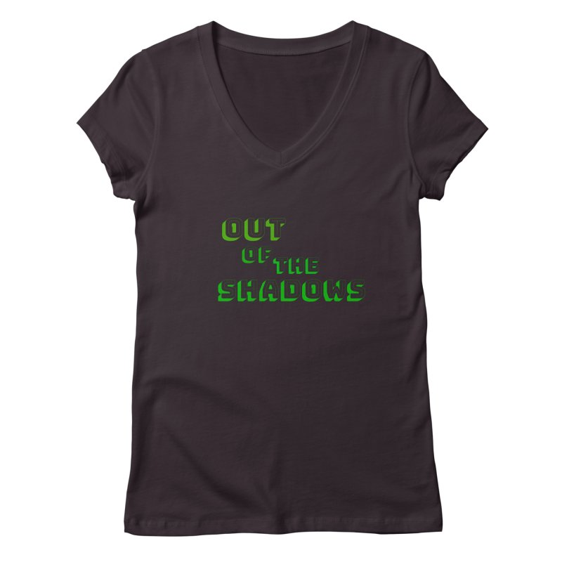 Simple Title Women's Regular V-Neck by Out of the Shadows's Store