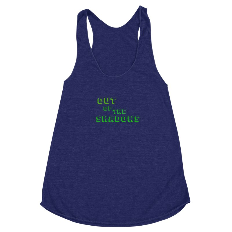 Simple Title Women's Racerback Triblend Tank by Out of the Shadows's Store