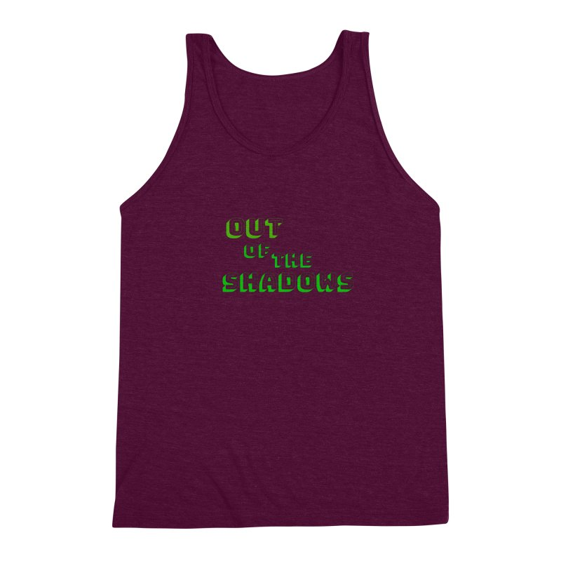 Simple Title Men's Triblend Tank by Out of the Shadows's Store