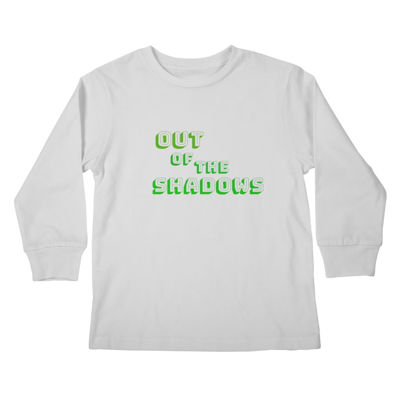 Simple Title Kids Longsleeve T-Shirt by Out of the Shadows's Store