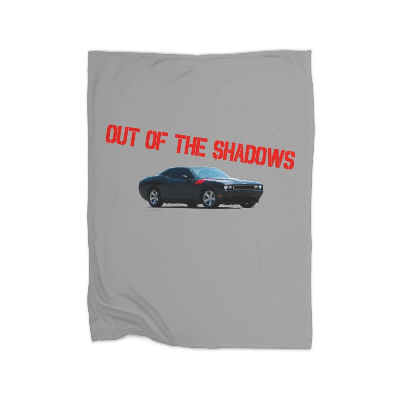 Shadows Challenger Home Fleece Blanket Blanket by Out of the Shadows's Store