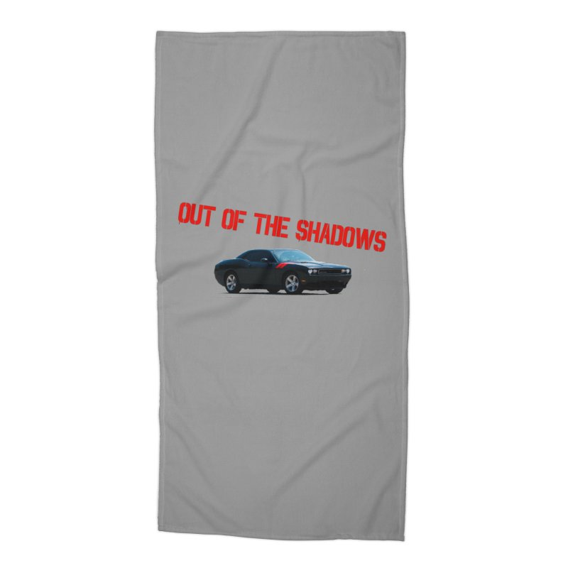 Shadows Challenger Accessories Beach Towel by Out of the Shadows's Store
