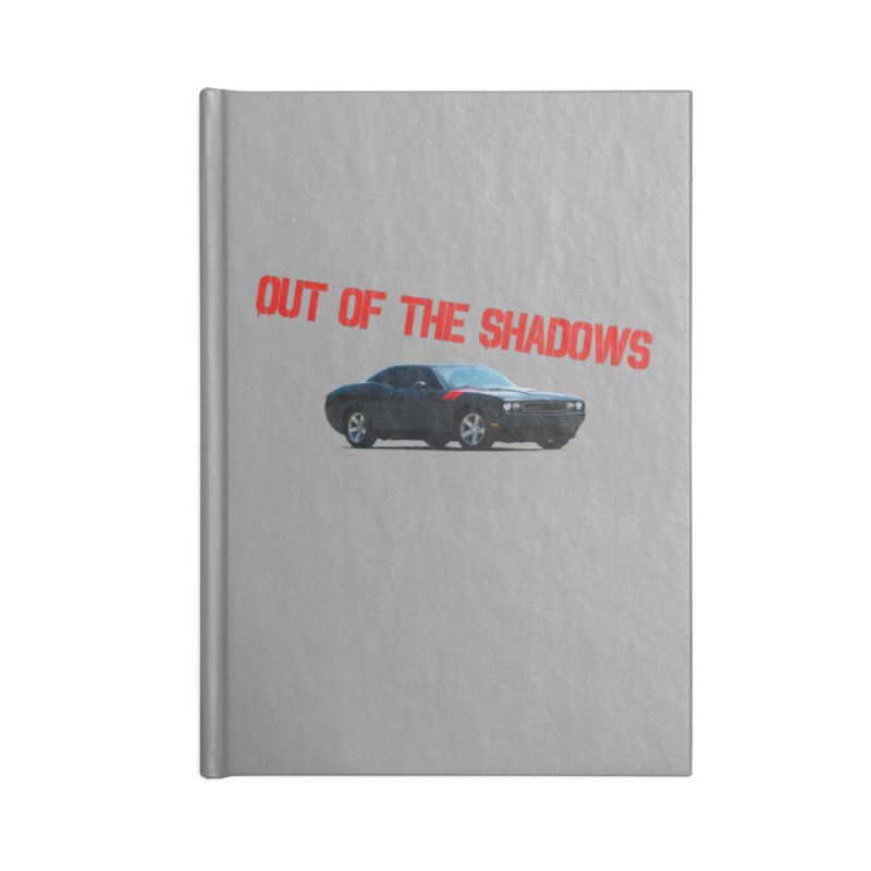 Shadows Challenger Accessories Blank Journal Notebook by Out of the Shadows's Store