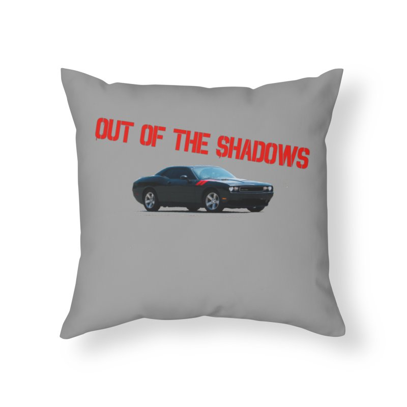 Shadows Challenger Home Throw Pillow by Out of the Shadows's Store