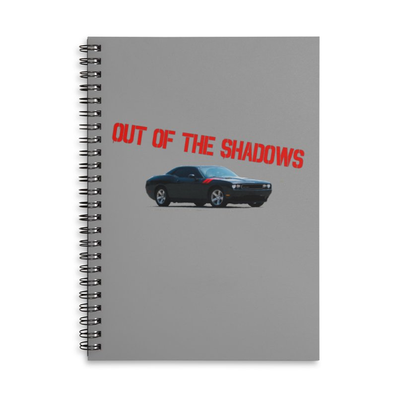 Shadows Challenger Accessories Lined Spiral Notebook by Out of the Shadows's Store