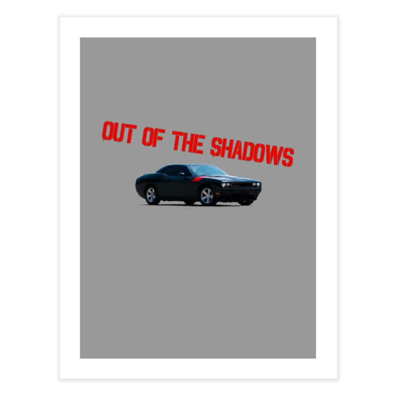 Shadows Challenger Home Fine Art Print by Out of the Shadows's Store