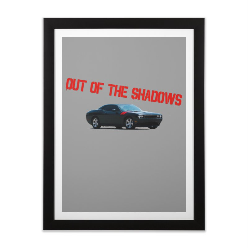 Shadows Challenger Home Framed Fine Art Print by Out of the Shadows's Store