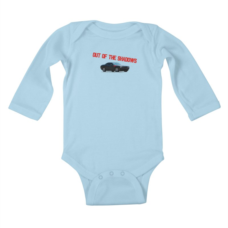 Shadows Challenger Kids Baby Longsleeve Bodysuit by Out of the Shadows's Store