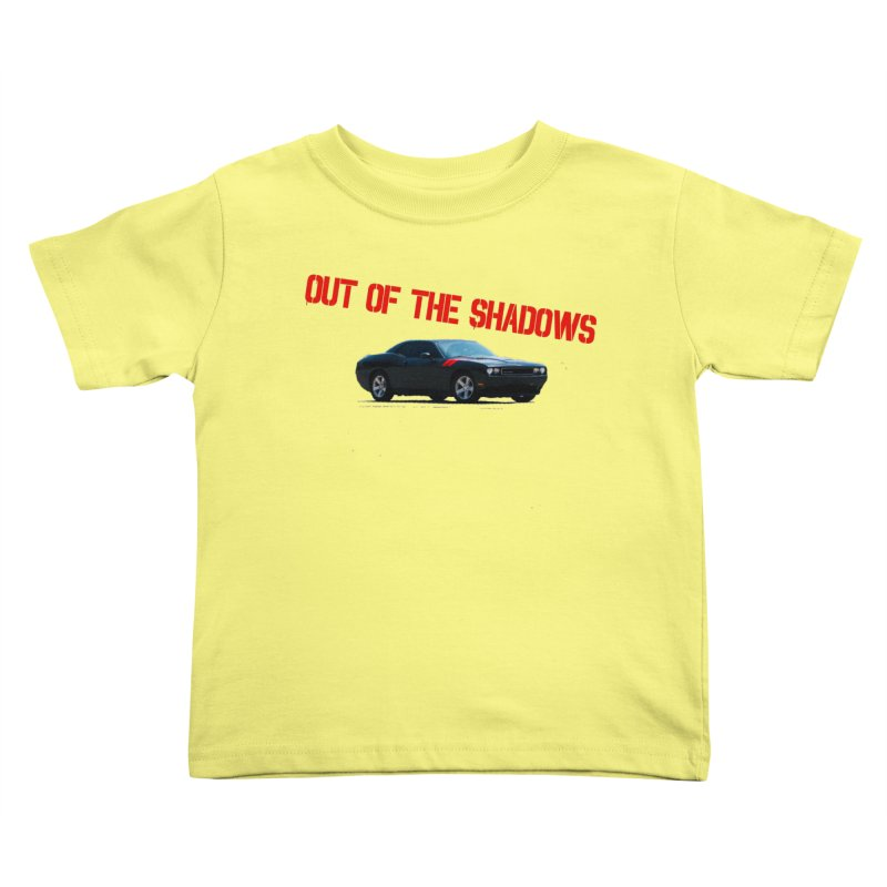 Shadows Challenger Kids Toddler T-Shirt by Out of the Shadows's Store
