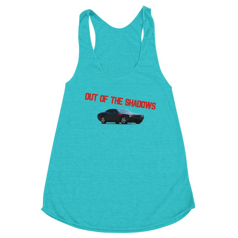 Shadows Challenger Women's Racerback Triblend Tank by Out of the Shadows's Store