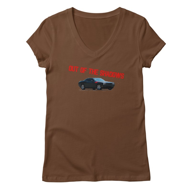 Shadows Challenger Women's Regular V-Neck by Out of the Shadows's Store