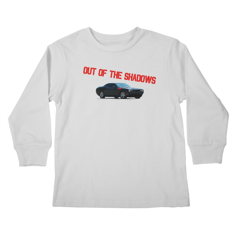Shadows Challenger Kids Longsleeve T-Shirt by Out of the Shadows's Store