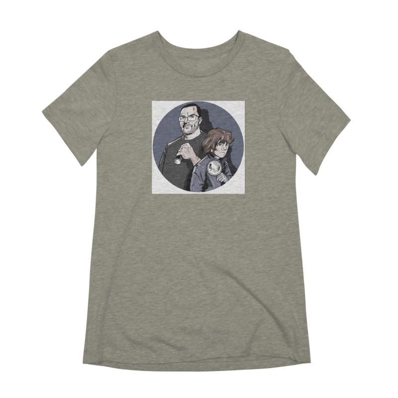Logo (Circle Gray) Women's Extra Soft T-Shirt by Out of the Shadows's Store