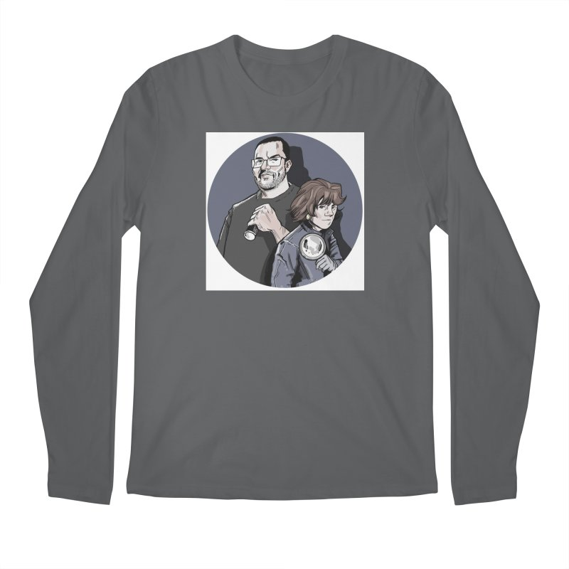 Logo (Circle Gray) Men's Regular Longsleeve T-Shirt by Out of the Shadows's Store