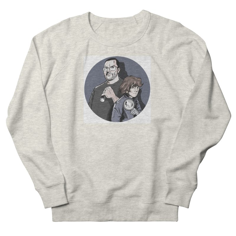 Logo (Circle Gray) Men's French Terry Sweatshirt by Out of the Shadows's Store