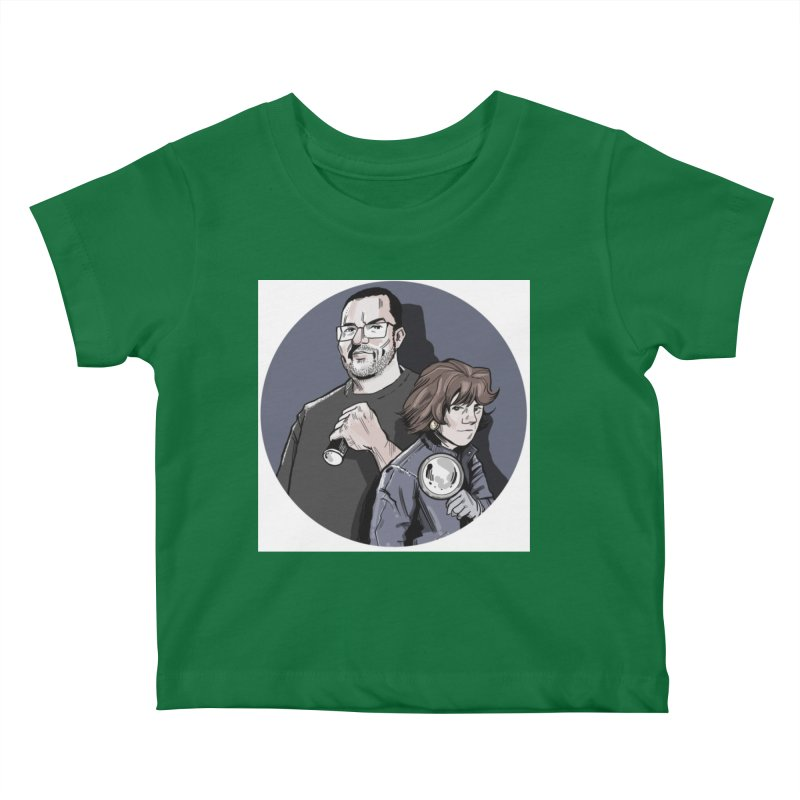 Logo (Circle Gray) Kids Baby T-Shirt by Out of the Shadows's Store