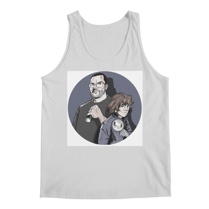 Logo (Circle Gray) Men's Regular Tank by Out of the Shadows's Store