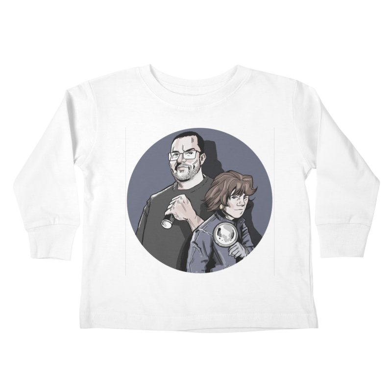 Logo (Circle Gray) Kids Toddler Longsleeve T-Shirt by Out of the Shadows's Store