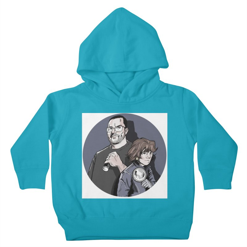 Logo (Circle Gray) Kids Toddler Pullover Hoody by Out of the Shadows's Store