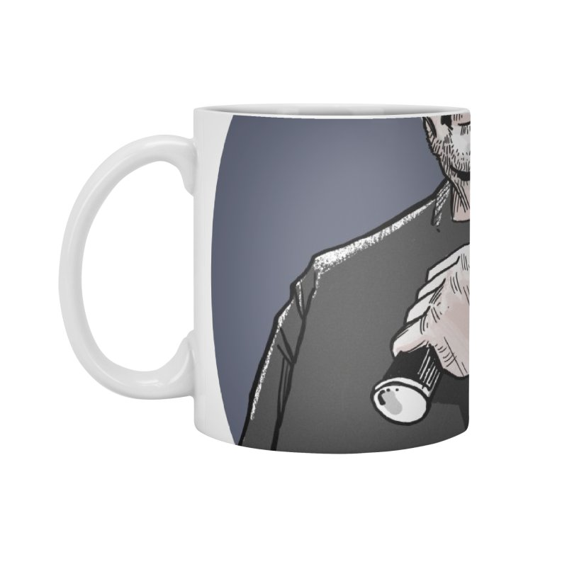 Logo (Circle Gray) Accessories Standard Mug by Out of the Shadows's Store