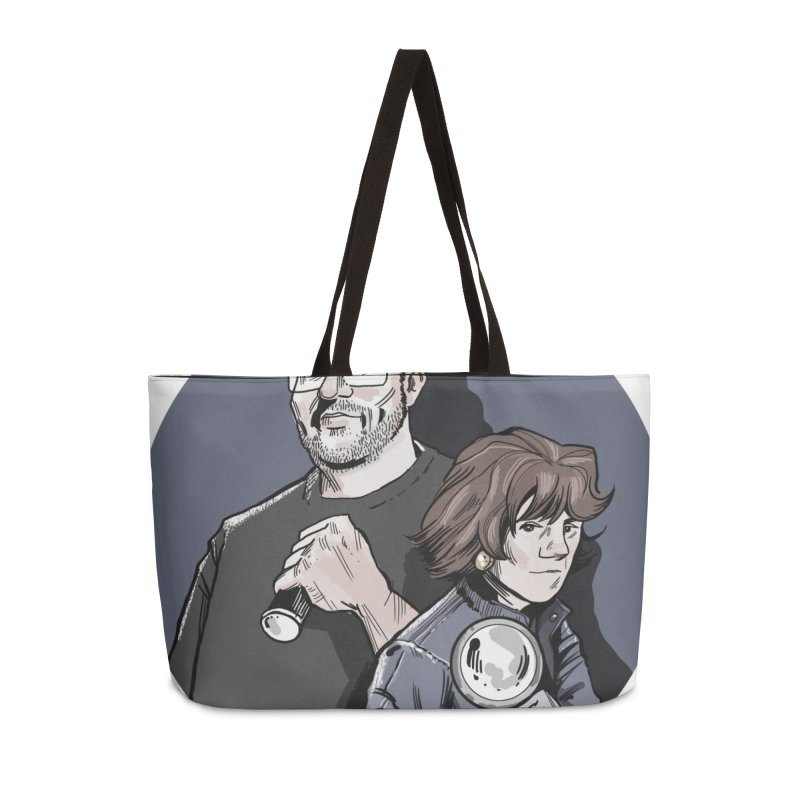 Logo (Circle Gray) Accessories Weekender Bag Bag by Out of the Shadows's Store