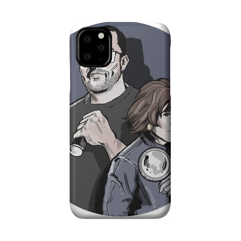 Logo (Circle Gray) Accessories Phone Case by Out of the Shadows's Store